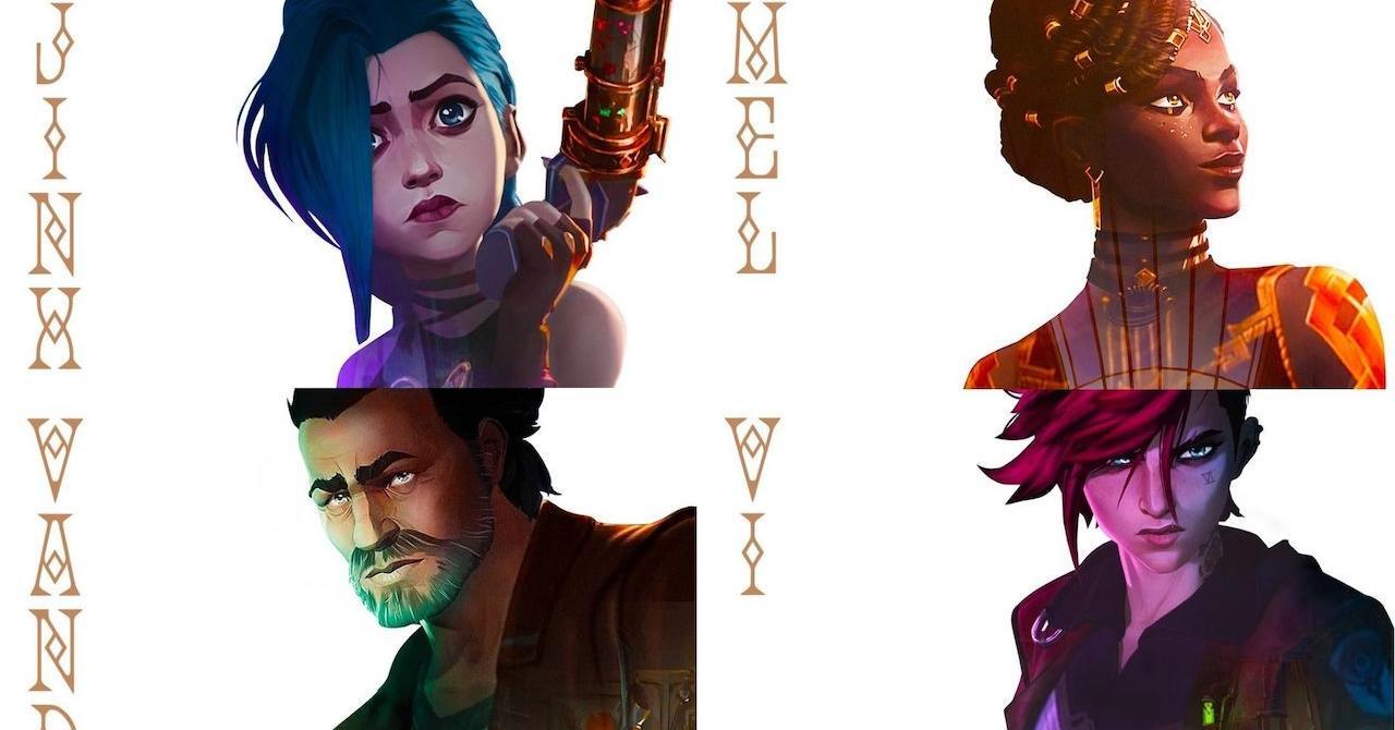 Arcane: Netflix présente les personnages in the série inspirée of League of Legends